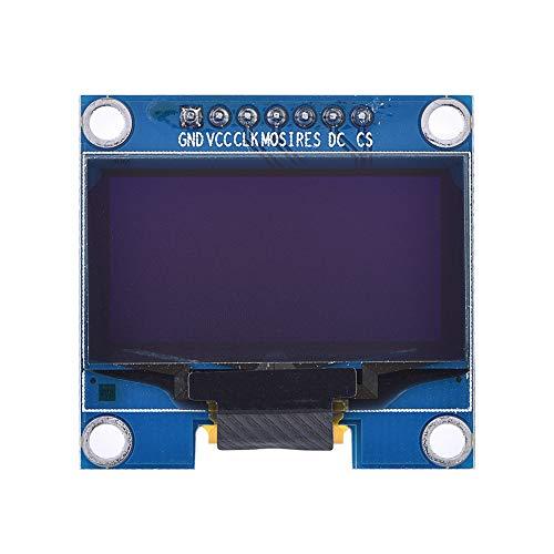 ASHATA OLED-Anzeigemodul, 1,3-Zoll-IIC-Serie 128 x 64 OLED 12864-Bildschirmanzeigemodul SSH1106, extrem geringer Stromverbrauch