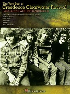 THE VERY BEST OF CREEDENCE CLEARWATER REVIVAL - arrangiert für Gitarre - mit Tabulator [Noten / Sheetmusic] Komponist: CCR