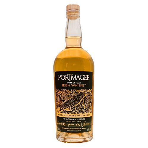 Portmagee Triple Distilled Irish Whiskey – Limitierte Serie I HOCHWERTIGER PREMIUM WHISKEY I Pure Irish Whiskey I Single Malt Whiskey & Single Grain Irish Whiskey I Irischer Whiskey I 40% Alk.