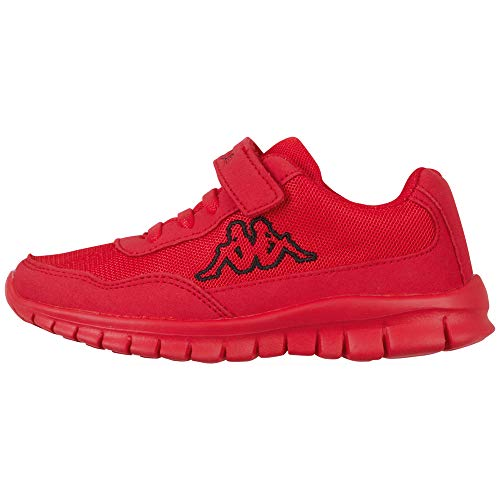 Kappa Follow OC K Unisex Kids Sneaker, 2011 Red Black, 30 EU