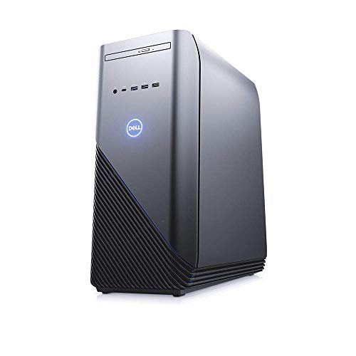 Dell Inspiron 5680 Desktop 6-Cores i5 up to 4.00GHz, 16GB Memory, 128GB PCIE SSD + 1TB HDD Gaming PC, GTX 1060 Graphic, USB Type-C, DVD-ROM, Wi-Fi, Bluetooth, Win 10