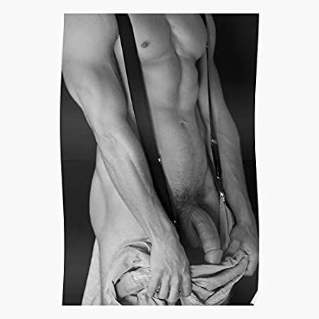 LAKO Men Gay Naked Art Nude Muscular Male Best for Home Decor Fine Wall Art Print Poster