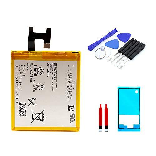 kaputt.de AKKU Set Batterie für Sony Xperia Z | 2330 mAh | 3,7 V | LIS1551ERPC | Reparaturset
