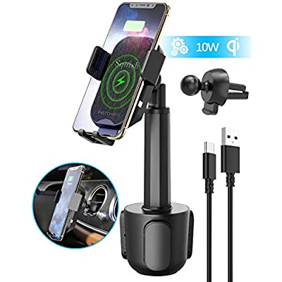 Wireless Car Charger, Squish 2-in-1 Universal C...
