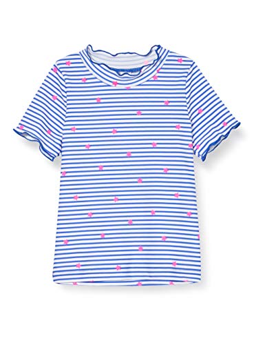 Sanetta Badeshirt T-Shirt Anti-UV, Bleu (Blau 50286), 12 Mois Bébé Fille