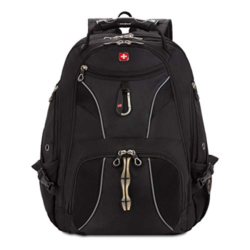 Swiss Gear SA1923 Black TSA Friendly ScanSmart Laptop Backpack - Fits Most 15 Inch Laptops and...