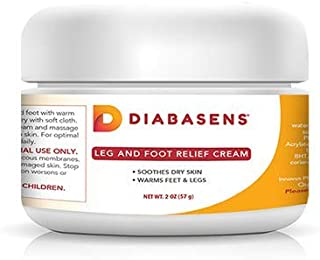 Diabasens - Leg and Foot Pain Relief Cream - Clinically Backed Ingredients to Support Neuropathy and Nerve Pain Relief by Increasing Local Sensitivity and Blood Flow