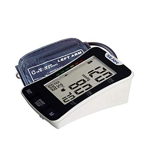 WShijie Blutdruckmessgerät fürs Handgelenk für Zuhause und Reisen, präzise Instrumenten-Manschette, automatisches, tragbares elektronisches Blutdruckmessgerät, schwarz