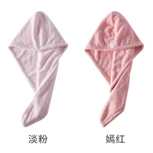 MEIZHIJIA Droog Haar Cap Dames Absorbens Haar Handdoek Sneldrogend Artifact Verpakt Rubbing Hoofdband Koraal Fleece Verdikking Leuke Douche Cap