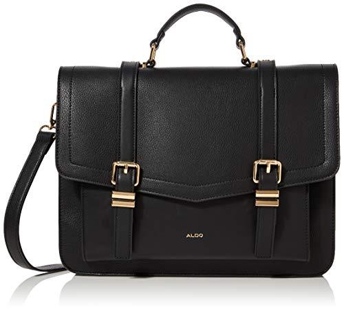 ALDO Damen OBIRI Messenger Handtasche, Schwarz, 26