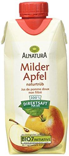 Alnatura Bio Milder Apfelsaft, 12 x 330ml