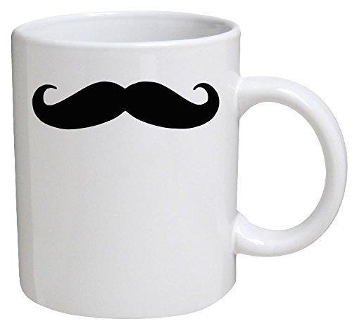Funny Mug - Moustache, Mustache - 11 OZ Coffee Mugs - Funny Inspirational and sarcasm - By A Mug To Keep TM