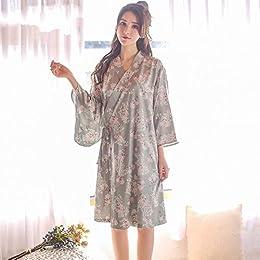 Kimono Japonais Pyjama Printemps et en été Femme S
