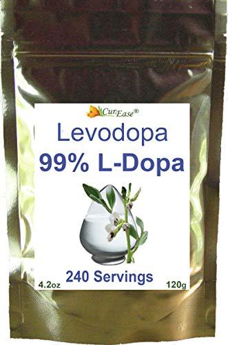 100% Mucuna Pruriens Extract Powder - 99% L-Dopa Powder – Natural Real Food Velvet Bean Seed Kapikachhu Cowitch Cowhage Herbal Benefits: Mood Brain Focus
