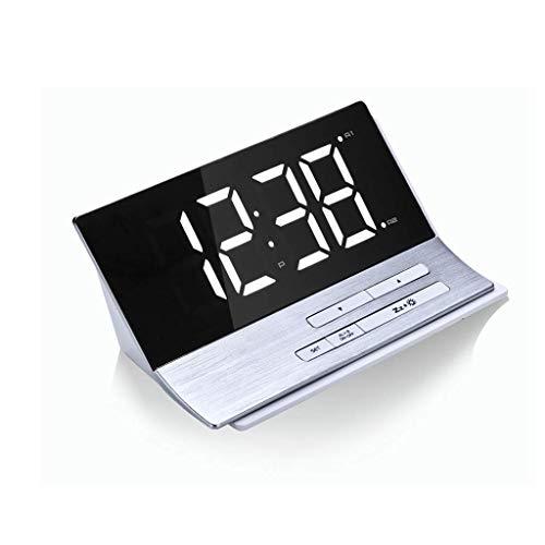 Manyao Reloj Despertador durmientes Pesados de Escritorio del Dormitorio de sobremesa eléctrico...