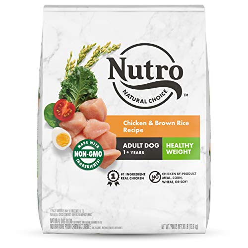 NUTRO NATURAL CHOICE Healthy Weight Adult Dry Dog Food, Chicken &...