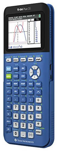 Texas Instruments TI-84 Plus CE Blueberry Graphing Calculator Photo #3