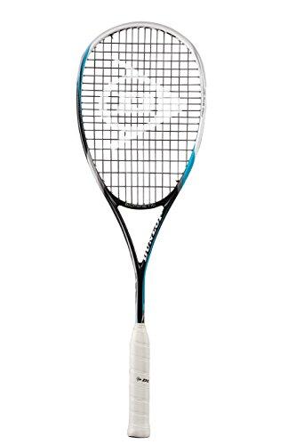 Dunlop Squashschläger Biomimetic Pro GTS 130 - Raqueta de Squash, Color Negro/Blanco, Talla L/XL