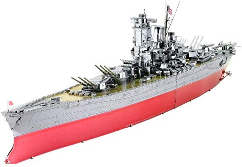 Piececool 3D Metal Model Kits for Adults - Battleship Yamato DIY 3D Metal Jigsaw Puzzle for Adults…