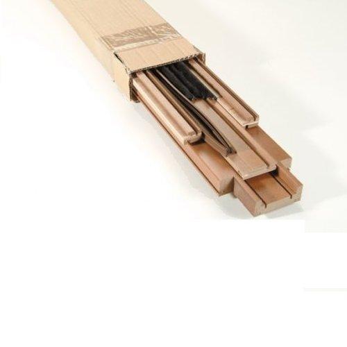 Kit chambrana cepillos Juntas para puertas correderas Totalmente Scrigno: Amazon.es: Bricolaje y herramientas