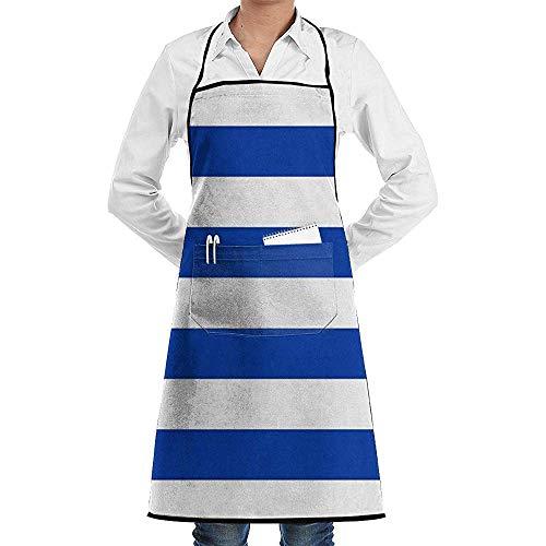 Delantal con Bandera de Uruguay con Bolsillos para Hombres y Mujeres, Chef, Cocina, Restaurante, Barbacoa, Parrilla, panadería, cafetería y Estudio