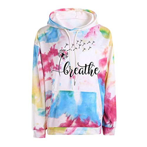 TAMALLU Women Sweater Fashion Plus Size Long Sleeve Breathable Print Winter Tunic(Multicolor,2XL)