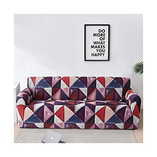 ZHAO Elastische Sofa-Abdeckung für Wohnzimmer, Moderne Sektional-Ecke Sofa Slipcover Sessel Couch Coude 1/2 / 3/4-Sitzer (Farbe : Color 20, Specification : 1 seat 90 140cm)