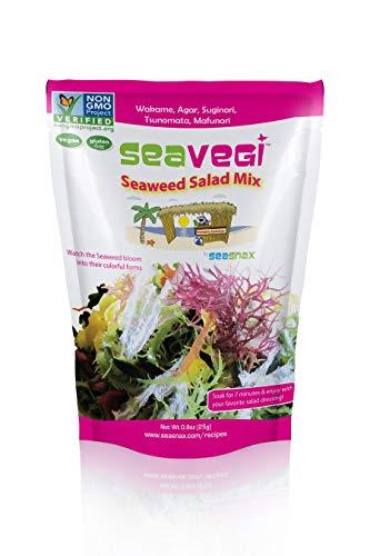 SeaVegi Seaweed Salad Mix, 0.9 Ounce (Pack of 12)