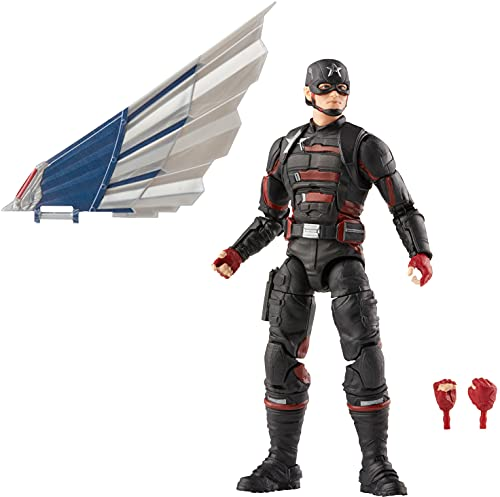 Avengers Hasbro Marvel Legends Series 6-inch Action Figure Toy U.S. Agent, Premium Design And 2 Accessories, For Kids Age 4 And Up multicolor F0246