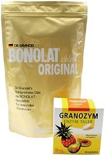ボノラート600g(30g×20杯) & グラノザイム(32粒)セット 無添加 乳プロテイン 置き換えシェイク & 酵素タブレット