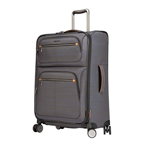 """Ricardo Montecito 25"""" Soft Side Spinner Luggage (Gray, One Size)"""