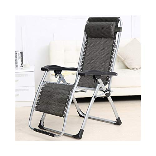 MDBLYJSilla de Cubierta Sillas Plegables, sillones, sillas, sillones de Oficina, sillas de Playa (Color : MA Points Black)
