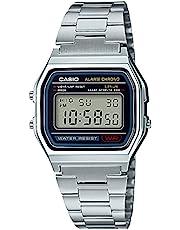 [カシオ] 腕時計 カシオ コレクション A158WA-1JH メンズ シルバー