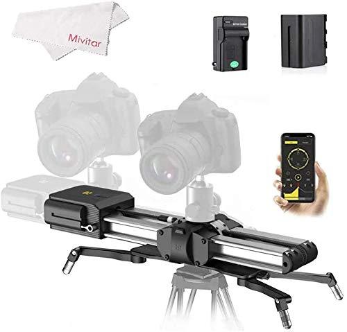 Zeapon Micro 2 - Deslizador para cámaras (54 cm/21 pulgadas, 4,5 kg, capacidad de carga en todas direcciones)