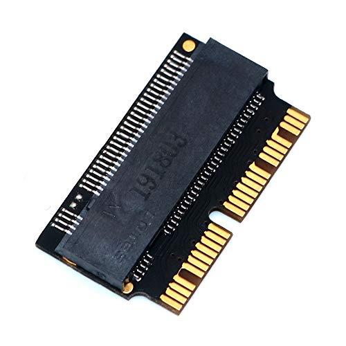 WOVELOT M.2 NGFF AHCI NVMe SSD Adaptador Convertidor 12 + 16 Pines para 2013-2017 M.2 NVME SSD Adaptador de ConversióN
