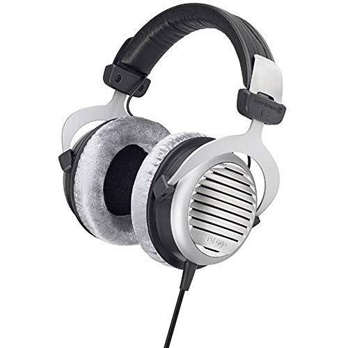 Beyerdynamic DT 990 Edition Circumaural Negro, Plata - Auriculares (Circumaural, Alámbrico, 5-35000 Hz, 96 dB, 3 m, Negro, Plata)