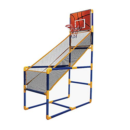 Inicio Plegable Baloncesto Del Juego De Arcada Deporte Con El Sistema Completo De Accesorios Para El Regalo Del Niño / Interior Baloncesto Al Aire Libre - Ahorro De Espacio Y Fácil De Instalar