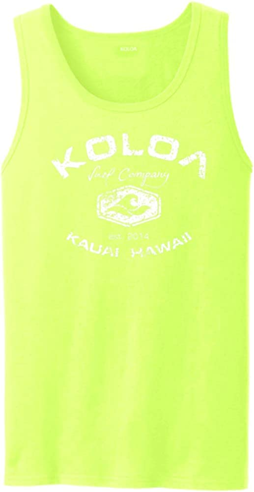 Koloa Vintage Arch Logo Animer and price revision Tank Sizes: in Tops Adult Special price for a limited time S-4XL