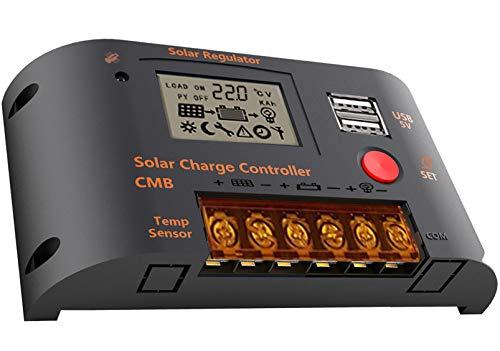 Controlador de carga solar, regulador...
