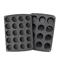 Silcone muffin pans