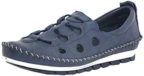 Gemini Damen Slipper Navy (Blau) 3115-01 802