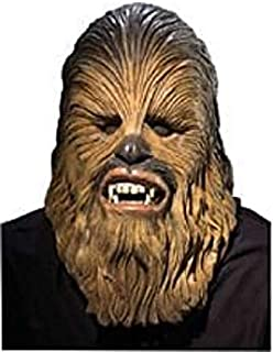 Costume Co. Star Wars Adult Deluxe Latex Chewbacca Mask, Multicolor, One Size
