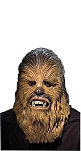Rubie's mens Star Wars Deluxe Latex Chewbacca Mask Adult Sized Costumes, As Shown, One Size US