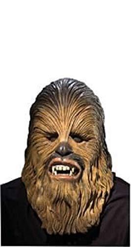 Générique–ma4192–Máscara Licencia Luxe Chewbacca Adulto PVC–Talla única