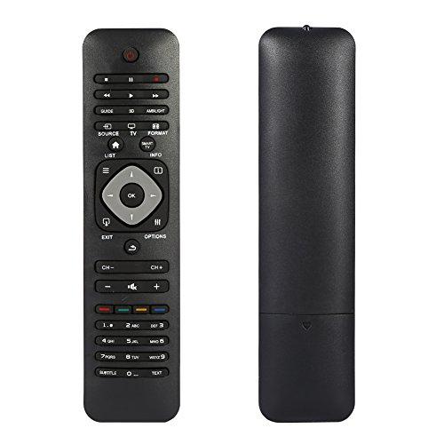 Mando a distancia universal Philips para Smart TV, TV de repuesto para televisores Philips con pantalla LCD LED