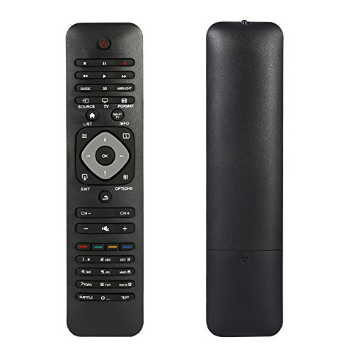Mando a distancia universal Philips para Smart TV, TV de repuesto para televisores Philips con pantalla LCD LED