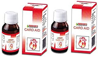 2 Lot Bakson's Homeopathy - Card Aid Drops Heart Toner.(pack of 2) EXPEDITED INTERNATIONAL DELIVERY