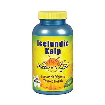 Nature's Life Icelandic Kelp, 1000 Tablets