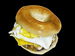 Home Comforts Breakfast Bagel Traditional Food Vivid Imagery Laminated Poster Print 24 x 36