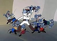 2000個のパズル-アニメの猫とマウスの大人のカラーパズル、家族全員のためのスキルゲーム、家族向けゲーム、ギフト、恋人や友人へのギフト